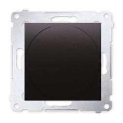 SIMON 54 Ściemniacz do LED naciskowo-obrotowy do ramki antracytt DS9L.01/48