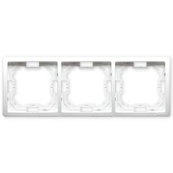 SIMON BASIC Ramka podwójna biały BMR3/11