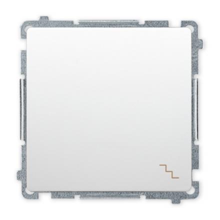 SIMON BASIC Wyłącznik łącznik schodowy do ramki biały BMW6.01/11