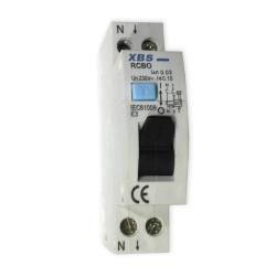 XBS Wyłącznik różnicowonadprądowy 1P+N 20A