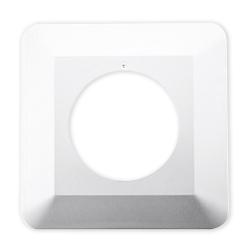 DPM Osłona ścienna wyłącznika/gniazda OPW-1 biała