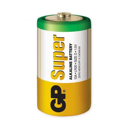 GP Bateria alkaliczna Super Alkaline R20 Rozmiar D 1.5V
