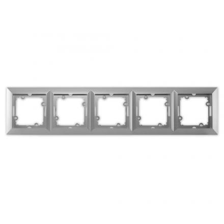 TIMEX OPAL Ramka pięciokrotna w kolorze srebrnym
