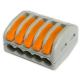 ELS Szybkozłączka uniwersalna 5x0,08-4mm² z dźwigniami zwalniającymi ZU-405 opak. 40 szt.