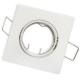 Oprawa oprawka halogenowa kwadratowa ruchoma biała