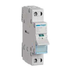 HAGER Rozłącznik izolacyjny wyłącznik główny 25A 1P SBN125