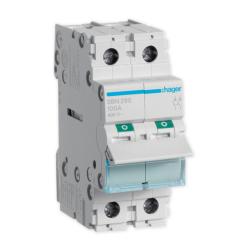HAGER Rozłącznik izolacyjny wyłącznik główny 100A 2P SBN290