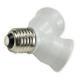 EcoEnergy Adapter rozgałęźnik E27 na 2xE27 do żarówek LED