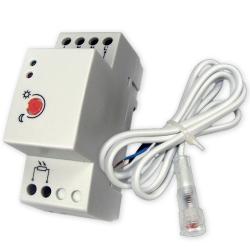 BOWI Automat zmierzchowy 20A na szynę DIN z sondą 222 HA