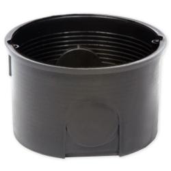 ELEKTRO-PLAST Puszka elektroinstalacyjna podtynkowa płytkai PK-60F czarna 10 szt.
