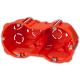 ELEKTRO-PLAST Puszka elektroinstalacyjna podtynkowa podwójna głęboka do regipsów z wkrętami PK-62/60G