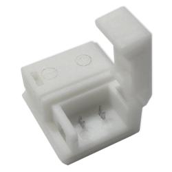 Elektro Złączka click 2 klipsy 8mm do taśm LED jednokolorowych wodoodpornych IP63