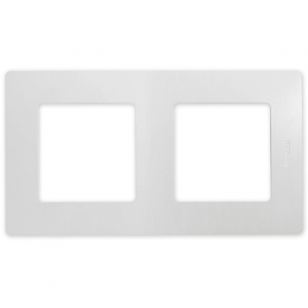 Legrand NILOE Ramka podwójna biała 665002