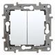 Legrand NILOE Łącznik schodowy podwójny biały 764502