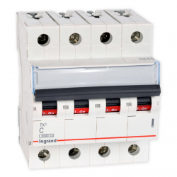 Legrand Wyłącznik nadprądowy 4P C 40A 6kA AC S304 TX3 403566