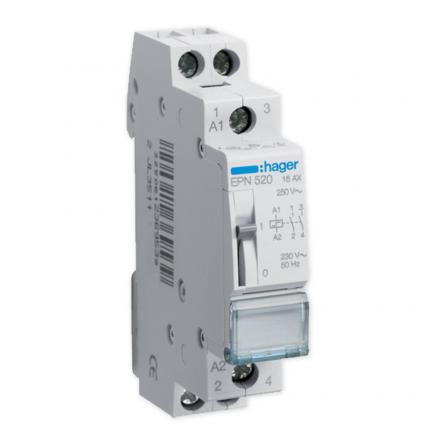 Hager Przekaźnik impulsowy 16A 230V AC 2Z EPN520
