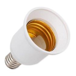 Adapter przejściówka E14 na E27 do żarówek LED