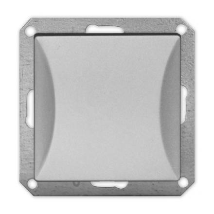 TIMEX OPAL Wyłącznik łącznik schodowy do ramki srebrny WP-5/m Op SR