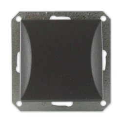TIMEX OPAL Wyłącznik łącznik schodowy do ramki grafit WP-5/m Op GR