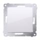 SIMON 54 Przycisk łącznik zwierny pojedynczy do ramki biały DP1.01/11