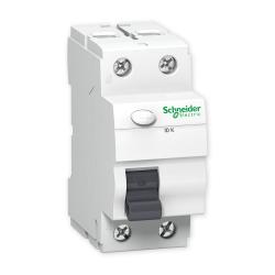 SCHNEIDER Wyłącznik różnicowoprądowy 2P 25A 0,03A typ AC IDK A9Z05225