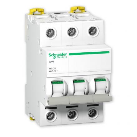 SCHNEIDER Rozłącznik izolacyjny 3P 100A iSW A9S65391