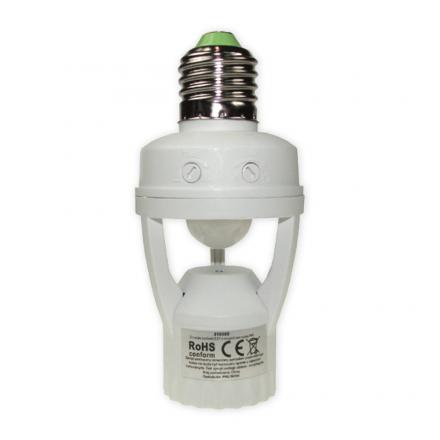 BOWI Czujnik ruchu sensor IR oprawka E27 biały
