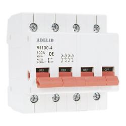 ADELID Rozłącznik modułowy 4P 100A RI-4P-100A