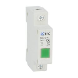 LC Lampka sygnalizacyjna kontrolna LED 1F zielona