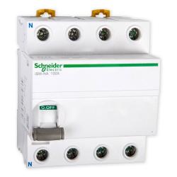 SCHNEIDER Rozłącznik modułowy z wyzwalaniem zdalnym 4P 100A iSW-NA A9S70790