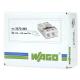 WAGO Szybkozłączka na drut 2x0,5-2,5mm² transparentna 2273-202 opak. 100szt.