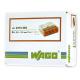 WAGO Szybkozłączka na drut 4x0,5-2,5mm² transparentna 2273-204 opak. 100szt.