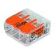 WAGO Szybkozłączka uniwersalna 3x0,2-4mm² transparentna 221-413 opak. 50szt