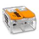 WAGO Szybkozłączka uniwersalna 2x0,5-6mm² transparentna 221-612
