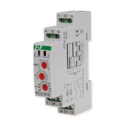 F&F Przekaźnik czasowy 2P 2x8A 230V PCU-510 DUO