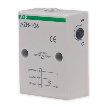 F&F Automat zmierzchowy hermetyczny 16A 230V 2-1000lx obudowa IP65 AZH-106