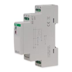 F&F Przekaźnik impulsowy bistabilny włącz-wyłącz 16A 24V AC/DC 1P BIS-411