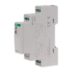 F&F Przekaźnik impulsowy bistabilny włącz-wyłącz duży prąd startowy 16A 230V AC 1P BIS-411i
