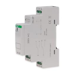 F&F Przekaźnik elektromagnetyczny 2x8A 230V AC PK-2P