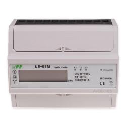F&F Licznik energii elektrycznej 3F 100A LCD inteligentny LE-03M