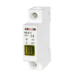 ADELID Lampka sygnalizacyjna kontrolna 1F żółta MLS-Y