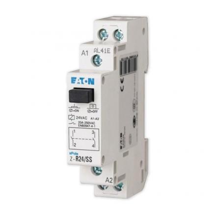 EATON Przekaźnik instalacyjny elektromagnetyczny 2Z 20A 24V AC Z-R24/SS 265173