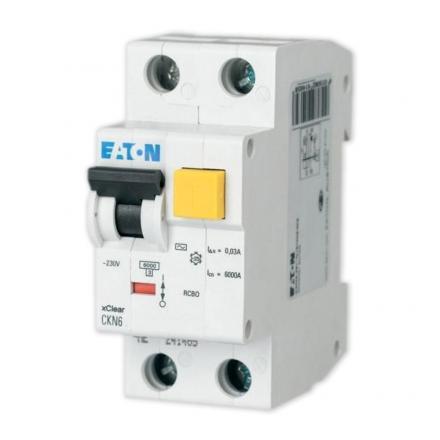 EATON Wyłącznik różnicowo-nadprądowy 2P B20A 30mA typ AC CKN6-20/1N/B/003 241429