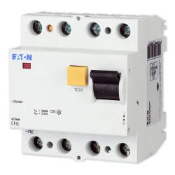 EATON Wyłącznik różnicowo-prądowy 4P 25A 30mA typ AC CFI6-25/4/003 235776
