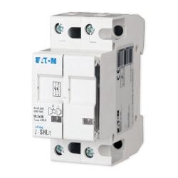 EATON Rozłącznik bezpiecznikowy cylindryczny z sygnalizacją na wkładki 10x38mm 2P 32A 400V~ Z-SHL/2 263885