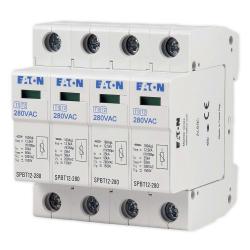 EATON Ogranicznik przepięć 4P 12,5kA kategorii B+C SPBT12-280/4 158331