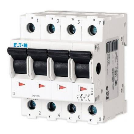 EATON Rozłącznik izolacyjny modułowy 4P 100A IS-100/4 276285