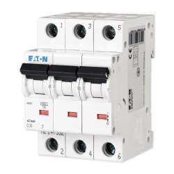 EATON Wyłącznik nadprądowy 3P B25A 6kA CLS6-B25/3-DP 270410