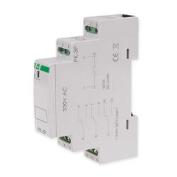 F&F Przekaźnik elektromagnetyczny 3x8A 230V AC PK-3P