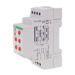 F&F Przekaźnik czasowy wielofunkcyjny 2P 2x8A 230V PCU-520